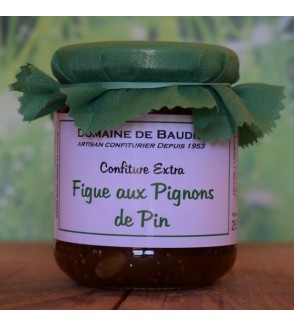 Confiture Figue aux Pignons de Pin