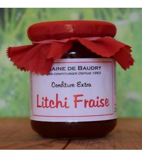 Confiture Litchi Fraise