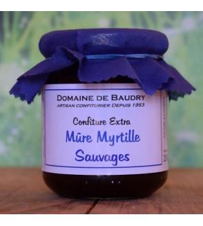 Confiture Mûre et Myrtille Sauvages