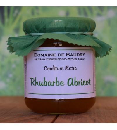 Confiture Rhubarbe Abricot