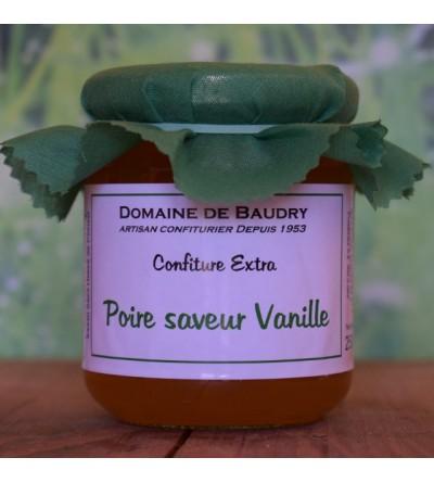 Confiture Poire saveur Vanille