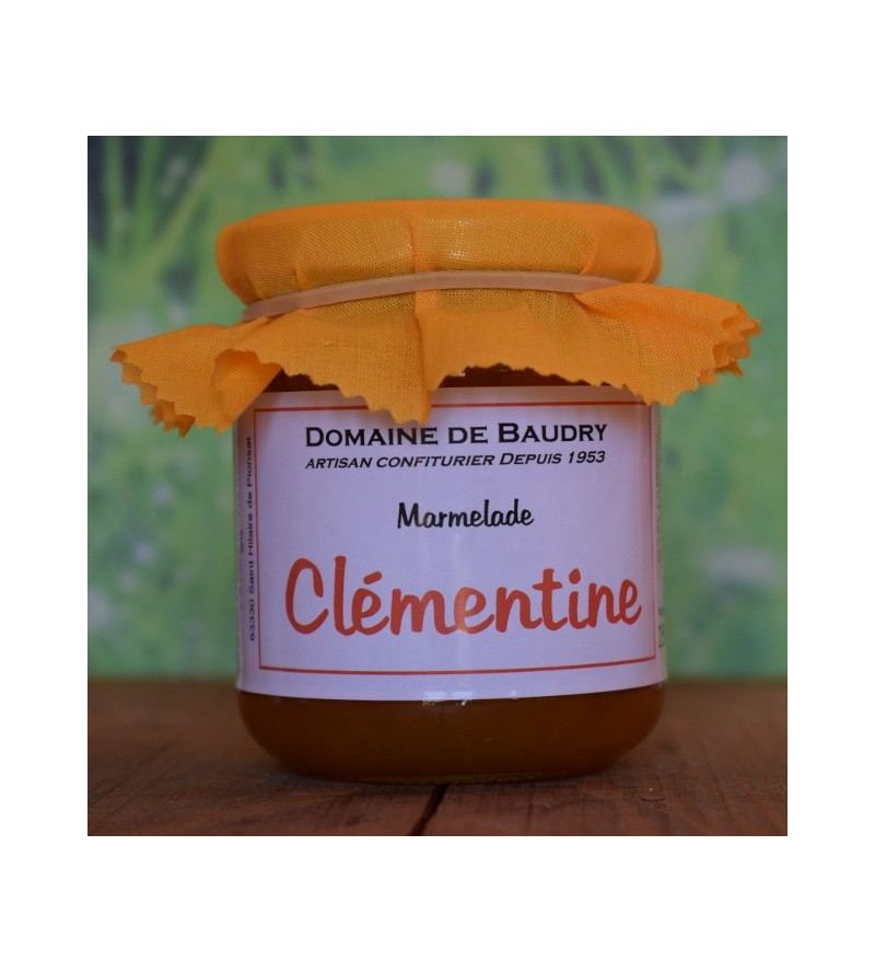 Marmelade Clémentine