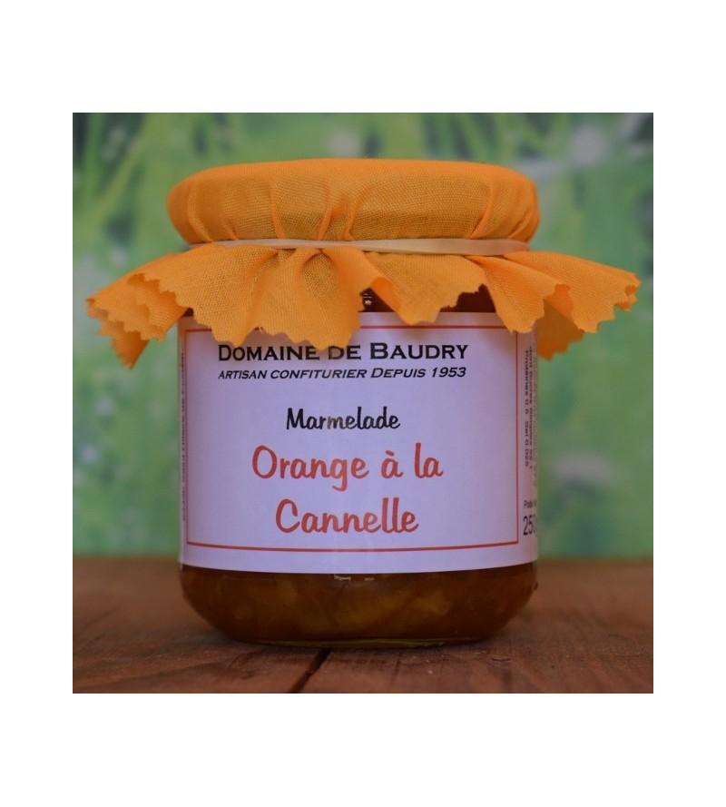 Marmelade Orange à la Cannelle