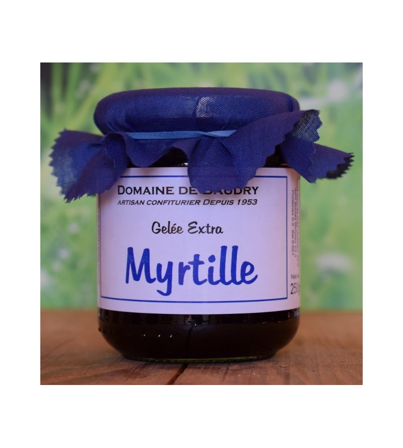 Gelée Myrtille Sauvage