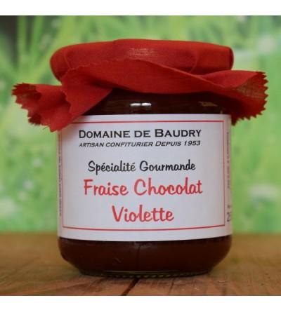Fraise Chocolat Violette