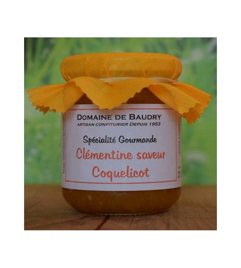 Clémentine saveur Coquelicot