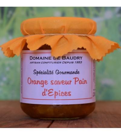 Orange saveur Pain d'épices