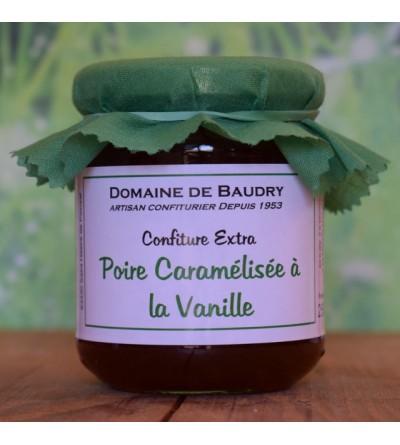 Poire Caramélisée à la Vanille