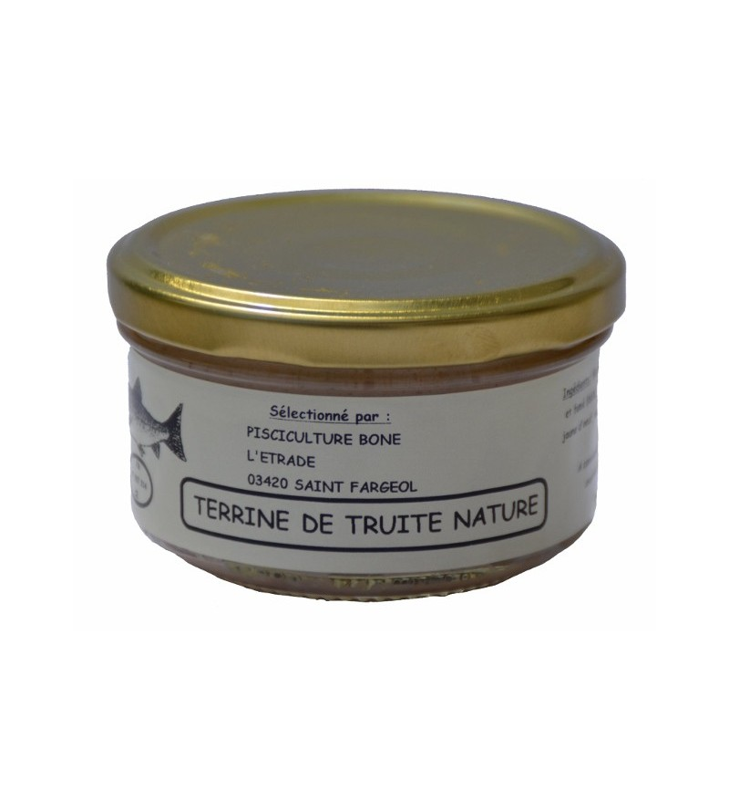 Terrine de Truites Nature
