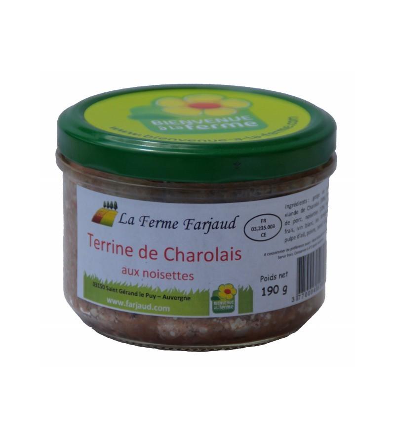Terrine de Charolais aux Noisettes