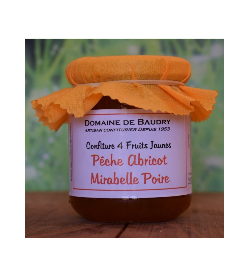 Confiture Quatre Fruits Jaunes