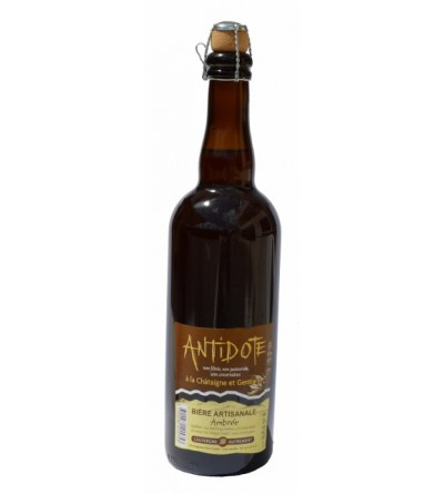 """Bière Artisanale """"ANTIDOTE"""""""