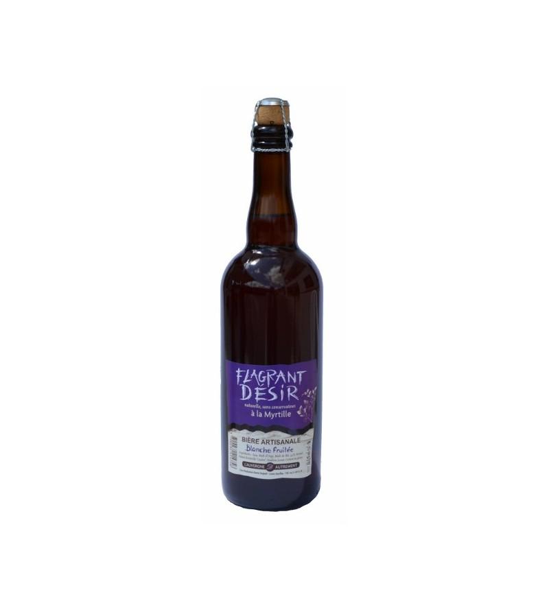 "Bière Artisanale ""FLAGRANT DESIR"""