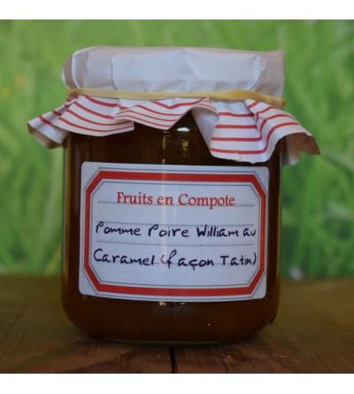 Pomme Poire William au Caramel