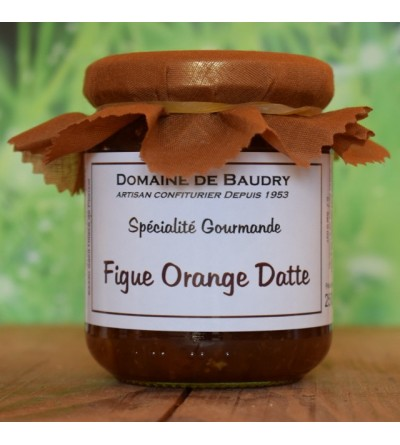 Figue Orange Datte