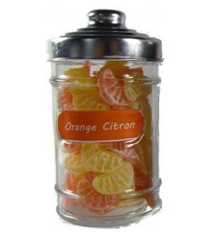 Bonbonnière Tranche Orange et Citron