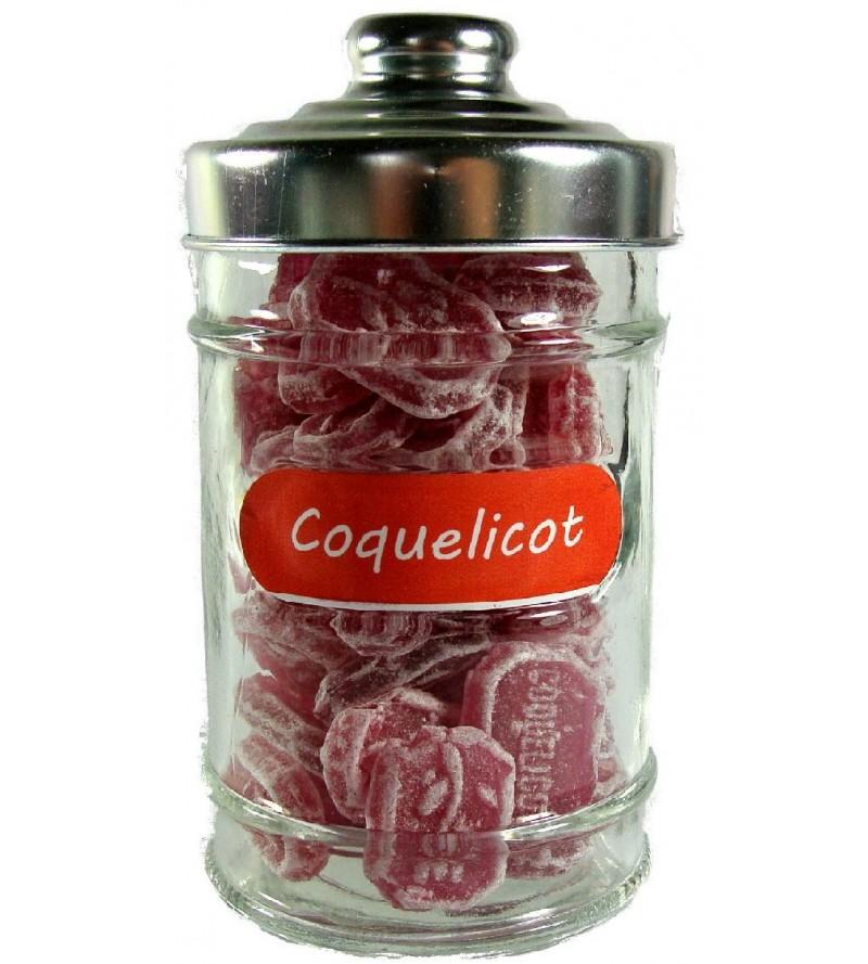 Bonbonnière Coquelicot