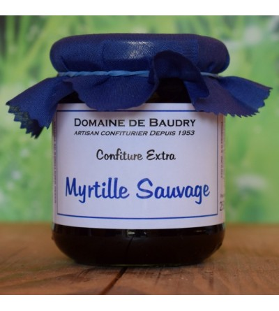 Confiture Myrtille Sauvage