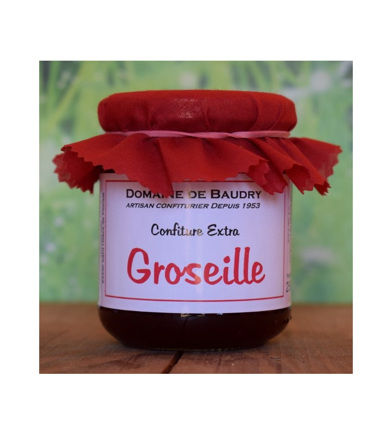 Confiture Groseille