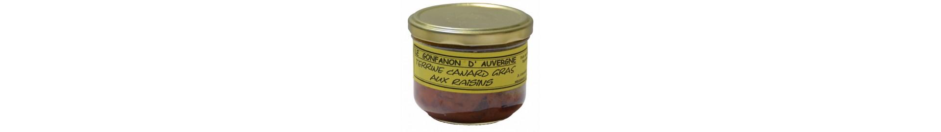 Terrines de Canard & Foie Gras