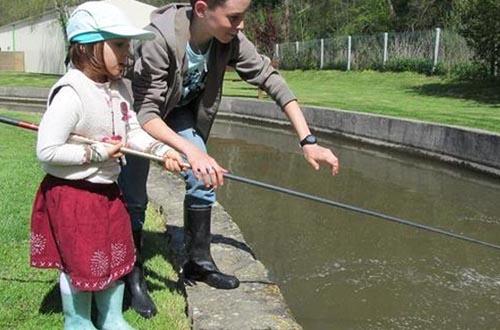 Pêche à la truite ouverte à tous au Domaine de Baudry