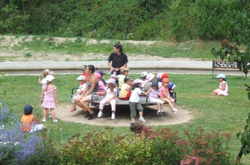 Accueil groupes et familles au domaines de Baudry