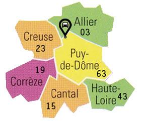 Domaine de Baudry à Saint-Hilaire de Pionsat 63